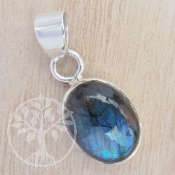Labradorite silver pendant sterling silver gemstone pendant