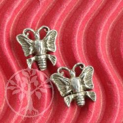 Schmetterling Ohrringe echt Silber