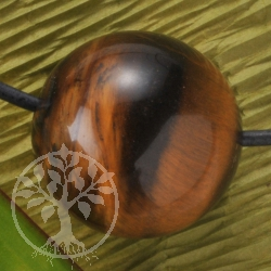 Tigers Eye Ball Pendant