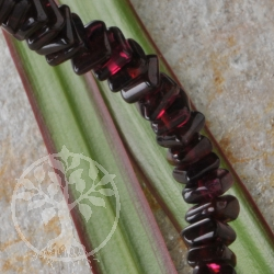 Granat Armband Quadrate Granatarmband Rechteckperlen