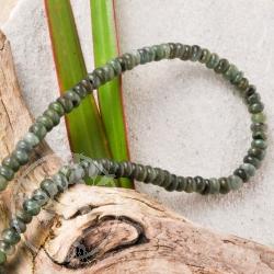 Emerald Gemstone Necklace Button