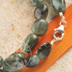 smaragd steinkette oval a edelsteine grosshandel. Black Bedroom Furniture Sets. Home Design Ideas