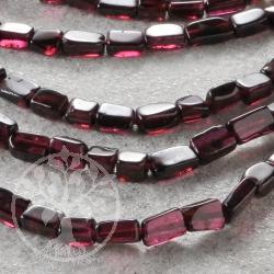 garnet gemstone beads square edelsteine grosshandel. Black Bedroom Furniture Sets. Home Design Ideas