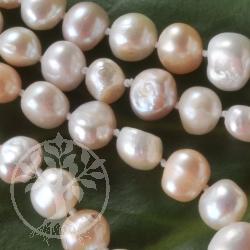 Pearl Necklet XL pastel shade