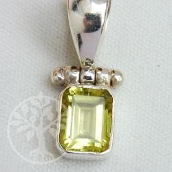Prasiolith Silberanhaenger