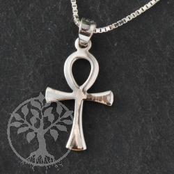 Silber Ankh Kreuzanhänger