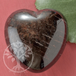 Garnet Gemstone Heart