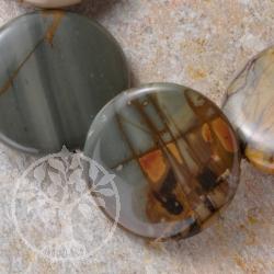 Polychronik Perlen Disc A+ 30mm/40cm A