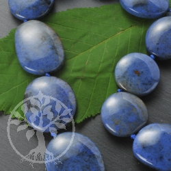 Dumortierite Gemstone Beads
