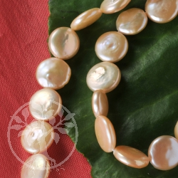 Cultured Pearls Pink Disc