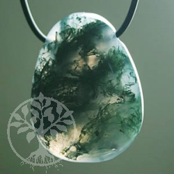 Moss Agate pendant small A-quality