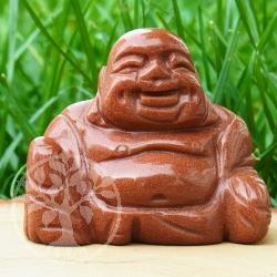 Goldfluss Buddha Steinfigur Edelsteine Grosshandel