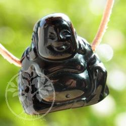 Onyx Buddha pendant gemstone figure