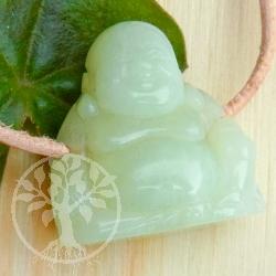 China Jade Buddha pendant gemstone figure
