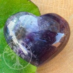 Fluorite heart figure flatterer