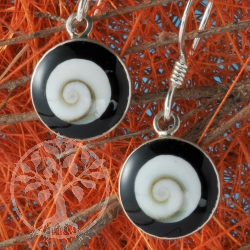 Shiva Onyx Earring