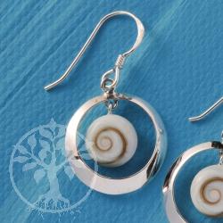 Shiva Silver Ear Pendant