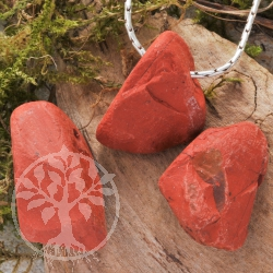 Red Jasper Pendant Rough 3 Pieces