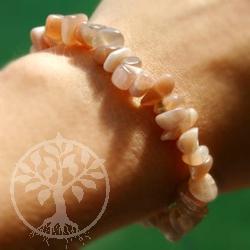 Moonstone Chip Bracelet