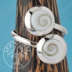 Silver Ring Shiva 2
