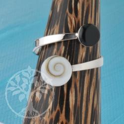 Silver Ring Shiva Onyx