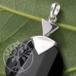 Silber Anhaenger Onyx Aufstieg