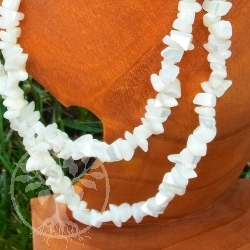 Mother of Pearl Shell Chips Necklace 85/90cm