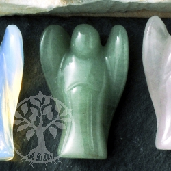 Aventurine Gemstone Angel Figure
