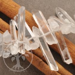 Bergkristall Spitzen als Schmuckperlen