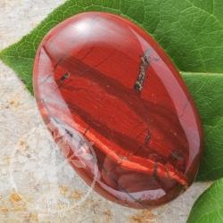 Red Jasper Soapstone 60x40xmm Flat gemstone