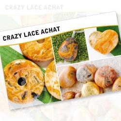 Crazy Lace Acht Steine Karte