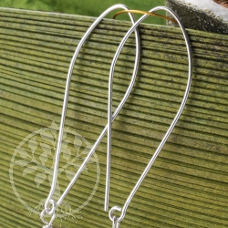 Earhook Silver Design Earring Hooks