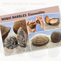 Moqui Marbles Steine Karte