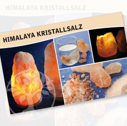 Crystal Salt Mineral Stone Description Cards
