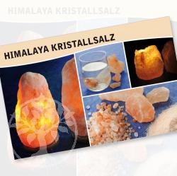 Kristallsalz Steine Karte