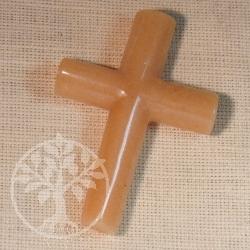 Orange Calcite Cross