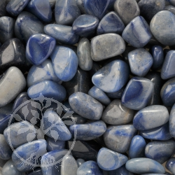 Blue Quartz Tumbled Stone Small