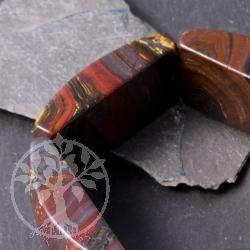 Tigereisen Armreif Armband wie ein Reif mit Tigereisen Perlen AA