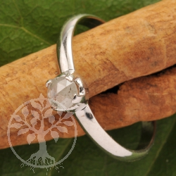 Diamant Ring Silber