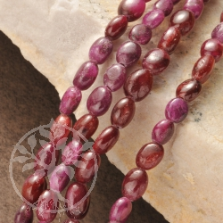 Ruby Necklace Oval