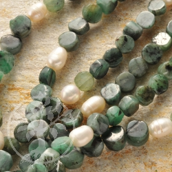 Emerald Necklace Pearl