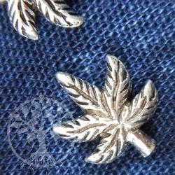 Earring Cannabis Leaf