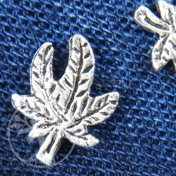 Cannabis Earring small sterling 925