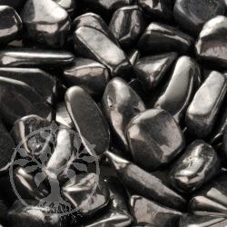 Schungit Wassersteine Handsteine 200g poliert 15-22mm