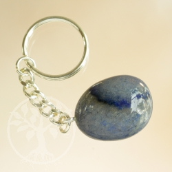 Key Pendant Blue Quartz