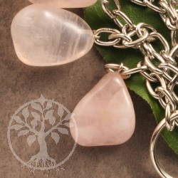 Key Pendants Rosa Quartz
