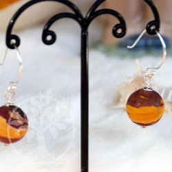 Mookaite Ball Earrings Vitalia