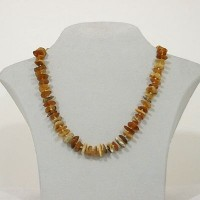Amber Necklace Rustic small