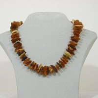 Amber Necklace Rustic big
