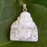 Magnesite Buddha Pendant